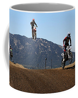Three In The Air Coffee Mug