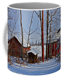 Three Little Houses Coffee Mug