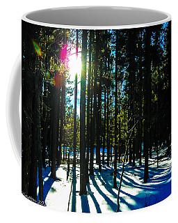 Coffee Mug featuring the photograph Through The Trees by Shannon Harrington