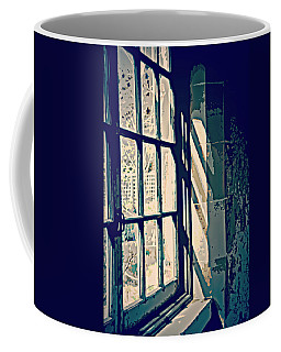 Coffee Mug featuring the photograph View Through The Window - Painterly Effect by Marilyn Wilson