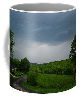 Coffee Mug featuring the photograph Thunderstorm by Kathryn Meyer