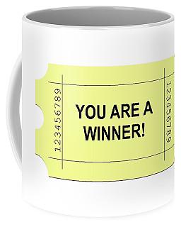 Ticket Yellow Coffee Mug