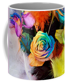 Tie Dyed Roses In Japan Coffee Mug