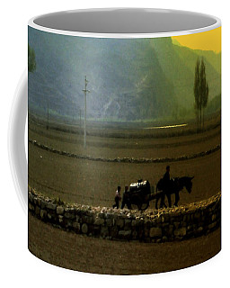 Coffee Mug featuring the photograph 'til The Day Is Done by Lydia Holly