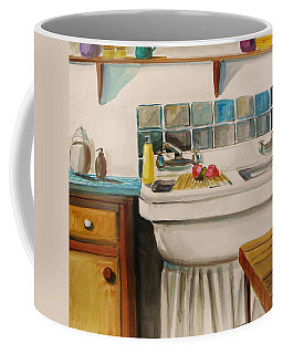 Tile And Porcelein Coffee Mug by John Williams