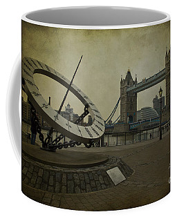 Coffee Mug featuring the photograph Timepiece. by Clare Bambers