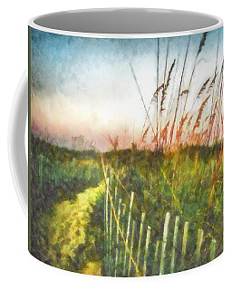 Coffee Mug featuring the painting To The Sea by Lynne Jenkins