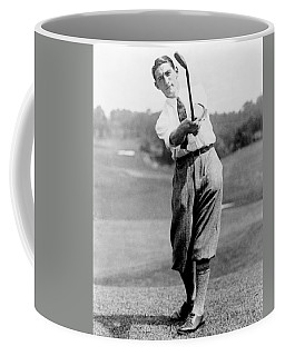 Coffee Mug featuring the photograph Tom Armour Wins Us Golf Title - C 1927 by International  Images