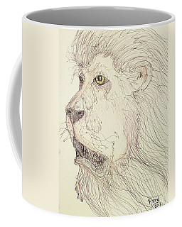 Tonight The Lion Will Not Sleep Coffee Mug
