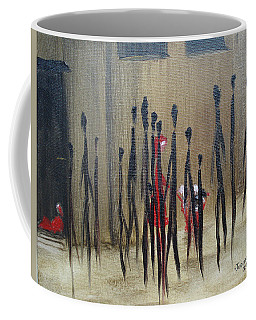 Too Busy To Notice Coffee Mug by Judith Rhue