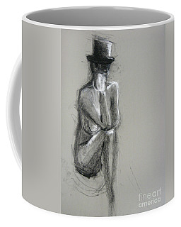 Coffee Mug featuring the drawing Top by Gabrielle Wilson-Sealy