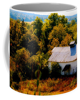 Coffee Mug featuring the photograph Touch Of Old Country by Peggy Franz