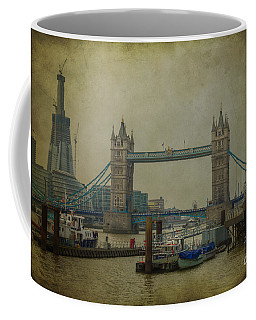Coffee Mug featuring the photograph Tower Bridge. by Clare Bambers