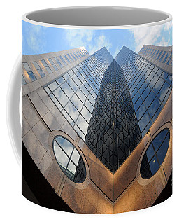 Towering Modern Skyscraper In Downtown Coffee Mug
