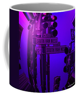 Coffee Mug featuring the photograph Traffic Stop by George Pedro