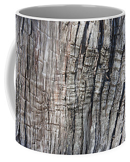 Tree Bark No. 1 Stress Lines Coffee Mug by Lynn Palmer