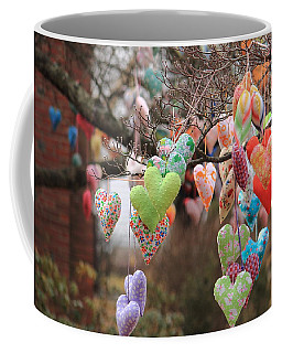 Tree Hearts Coffee Mug