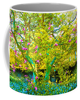 Tree With Flowers Coffee Mug