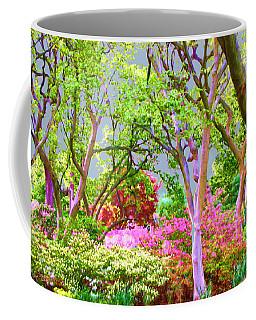 Trees And Azalea Bushes Coffee Mug