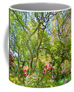 Trees And Orchids Coffee Mug