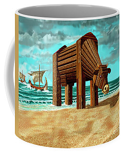 Trojan Cow Coffee Mug