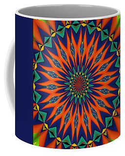 Coffee Mug featuring the digital art Tropical Punch by Alec Drake