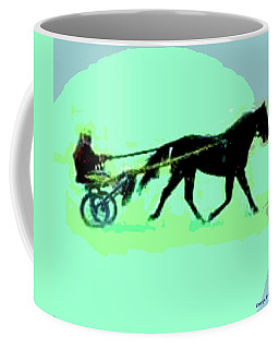 Coffee Mug featuring the photograph Trotter by George Pedro