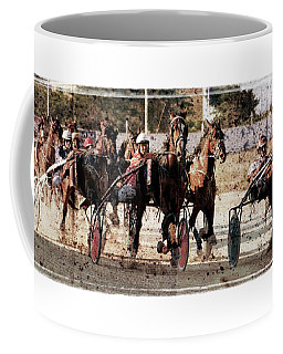 Coffee Mug featuring the photograph Trotting 3 by Pedro Cardona