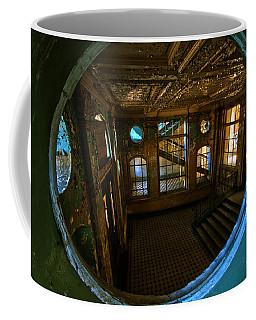 Trough The Round Window Coffee Mug by Nathan Wright