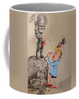 Trump Shaping Up The Future Coffee Mug