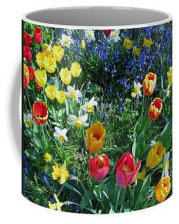 Tulips Dancing Coffee Mug by Rory Sagner