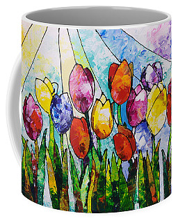 Tulips On Parade Coffee Mug