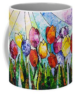 Tulips On Parade Coffee Mug