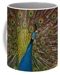 Turquoise And Gold Wonder Coffee Mug