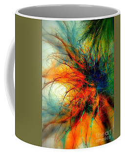 Twilight In The Garden Coffee Mug by Klara Acel