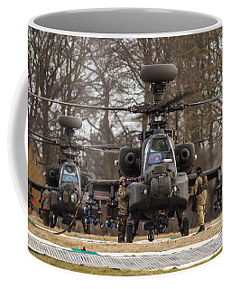Two Ah64 Apaches Coffee Mug