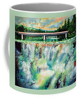 Two Bridges And A Falls 2          Coffee Mug by Kathy Braud