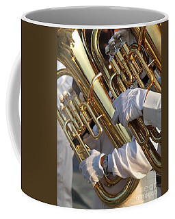 Two Tuba Players Coffee Mug