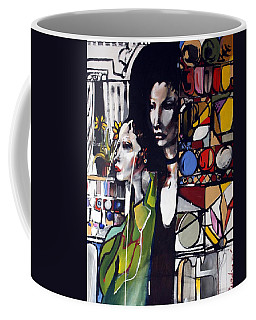 Two Women Coffee Mug by Pat Purdy