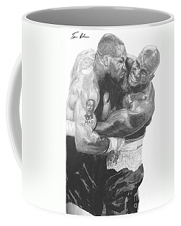 Tyson Vs Holyfield Coffee Mug