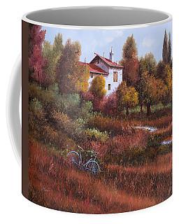 Una Bicicletta Nel Bosco Coffee Mug