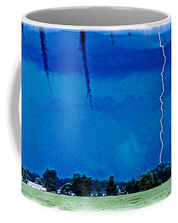 Coffee Mug featuring the photograph Underneath- My Fears by Janie Johnson