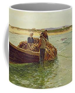Unloading Kelp Weed  Coffee Mug