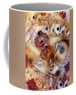 Coffee Mug featuring the digital art Unphased And Confused by Casey Kotas