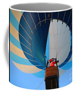 Coffee Mug featuring the photograph Up Into The Blue. Oshkosh 2012. by Ausra Huntington nee Paulauskaite
