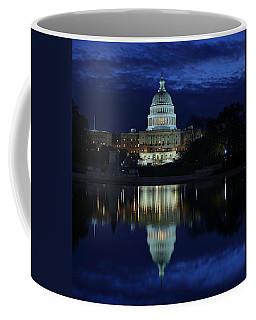 Us Capitol - Pre-dawn Getting Ready Coffee Mug