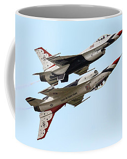 Usaf Thunderbirds Display Pair Coffee Mug