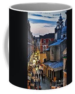 Venice From Ponte Di Rialto Coffee Mug