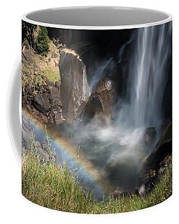 Vernal Falls Rainbow On Mist Trail Yosemite Np Coffee Mug