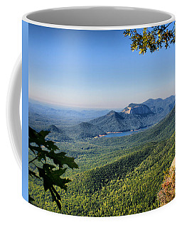 Coffee Mug featuring the photograph View From Caesar's Head by Lynne Jenkins